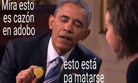 Memes De Obama - obama prueba el adobo los mejores memes de su pr 243 xima