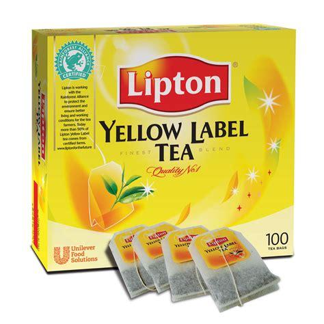 Teh Lipton Yellow Label tea thai huot trading co ltd