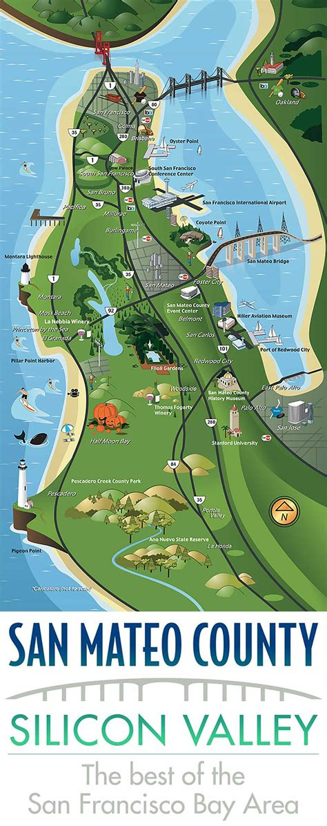 San Mateo County Records San Mateo County Map Adriftskateshop