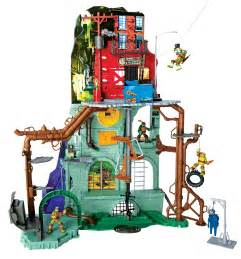 mutant turtles secret sewer lair play set