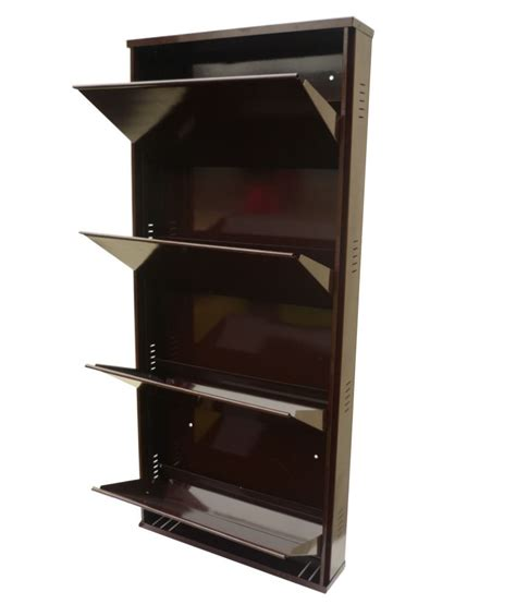 Shoe Rack Attached To Wall by Wall Mounted Shoe Rack 4 Drawer Buy Wall Mounted Shoe