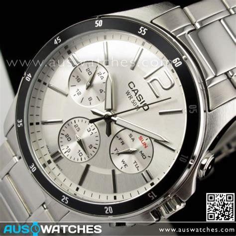 Casio Mtp 1374d 7av Original buy casio day date 50m mens mtp 1374d 7av mtp1374d buy watches casio aus watches
