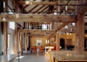 Barn House Interior Barn Restored From Rustic To Modern And Cozy House In Pine