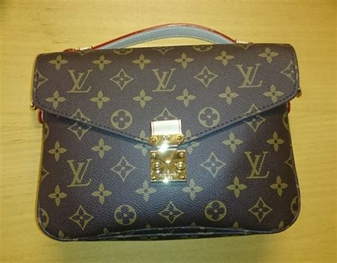 louis vuitton monogram replica pochette metis and a new