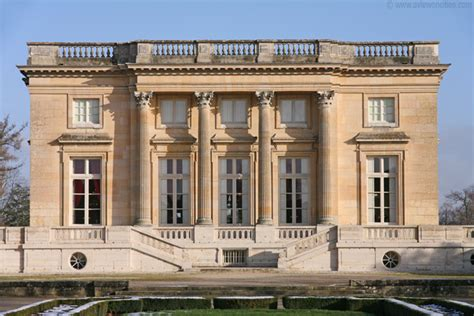 Royal Castle Floor Plan petit trianon seen from the french garden versailles
