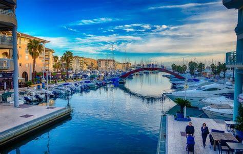 provence cote d azur 1920x1080 1012318 wallpaper bridge dawn boat france home morning yacht