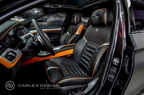 Custom Car Upholstery Toronto by Bmw 5 Series The Ripper Custom Interior From Carlex