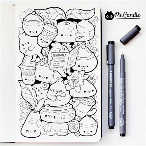 doodle and sketchbook a coloring activity and doodle book for of all ages books 126 best images about pic candle doodles on