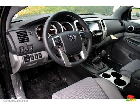 2014 Tacoma Interior by Graphite Interior 2014 Toyota Tacoma V6 Trd Access Cab 4x4