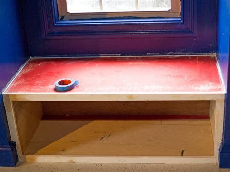 diy pet window seat make a window seat with an integrated pet bed hgtv
