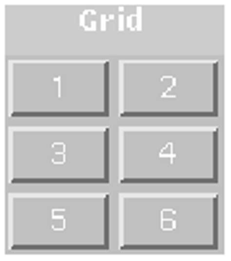 Gridlayout Java Api | java gridlayout