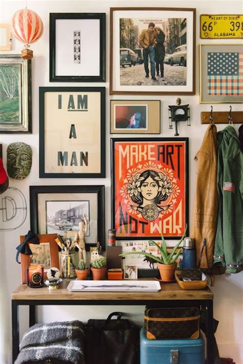 eclectic wall decor 17 best ideas about art walls on pinterest home map