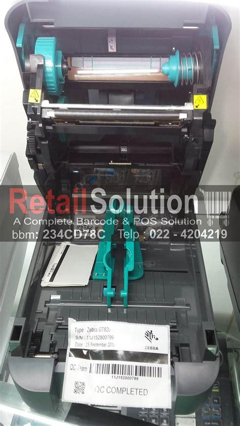 Adaptor Printer Barcode Zebra Gt 820 jual printer barcode zebra gt 820 retail solution bec