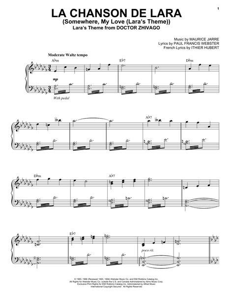 """Andrea Bocelli """"La Chanson De Lara (Somewhere, My Love"""
