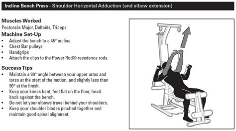bowflex bench press bowflex workout routines build muscle beginner s workout