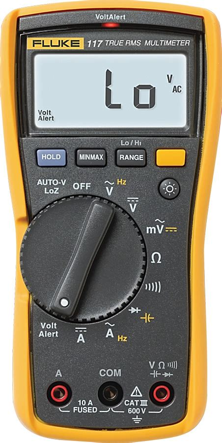 Multitester Fluke 117 fluke 117 true rms multimeter with backlight