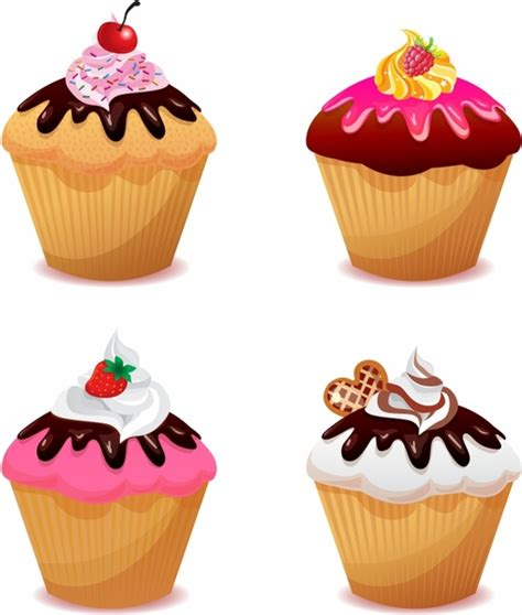 Free cupcake vector illustration free vector download (139 ... Free Clipart Cupcakes