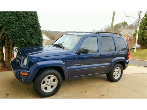 Jeep Liberty For Sale By Owner 2002 Jeep Liberty Limited Edition Sale By Owner In
