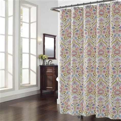 collingswood shower curtain buy cotton polyester shower curtain from bed bath beyond