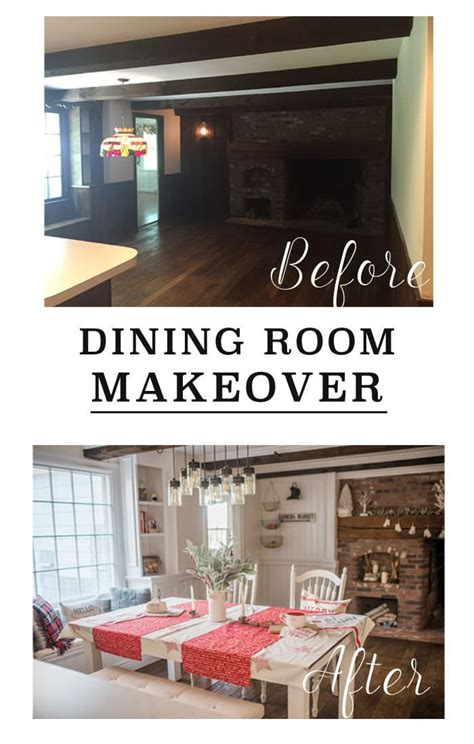 room makeover before and after dining room makeover before after