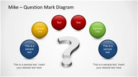 many questions powerpoint template slidemodel