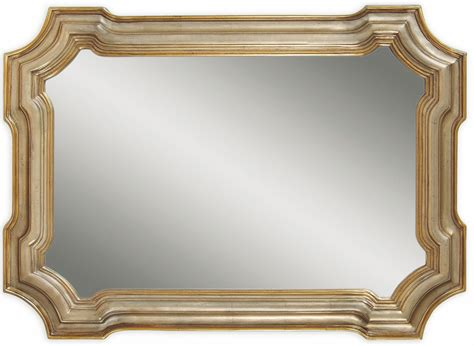 gold and silver mirror silver and gold wall mirror from bassett mirror