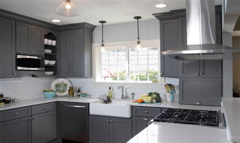 gray painted kitchen cabinets gray kitchen cabinets kitchen cabinet paint color