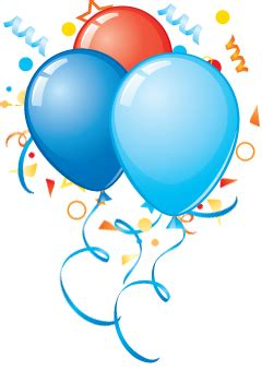 Birthday party balloons png 43921 free icons and png backgrounds