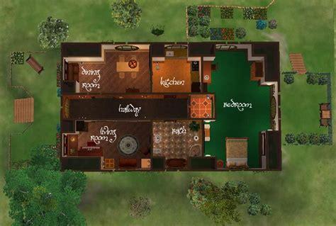 hobbit hole floor plan mod the sims a small hobbit house