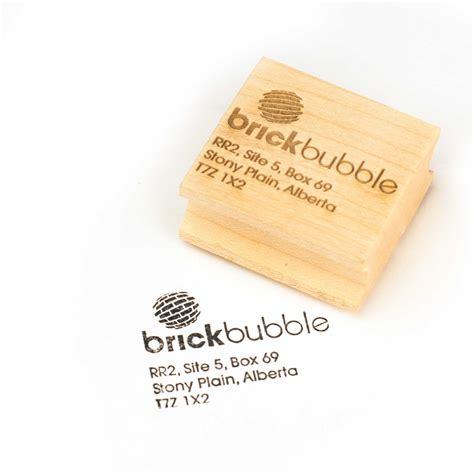rubber st app custom rubber sts brickbubble