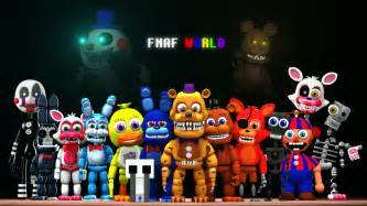 Fnaf world by shadow f1end on deviantart