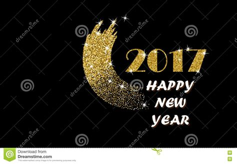 new year gold 2017 happy new year gold vector stock vector image 78230452