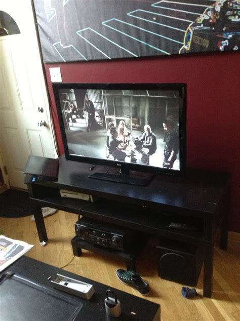lack leg switch taller lack tv stand ikea hackers