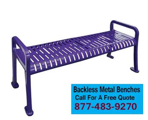 backless benches for sale durable commercial backless metal park benches for sale usa made