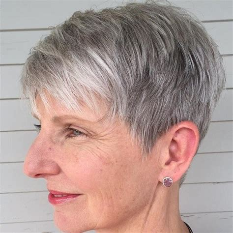 short haircuts women over 50 back of head short hairstyles for women over 50 hairiz