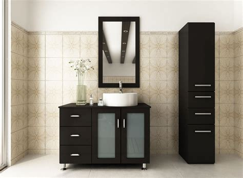 black bathroom cabinet ideas modern bathroom vanity makes your bathroom beautiful