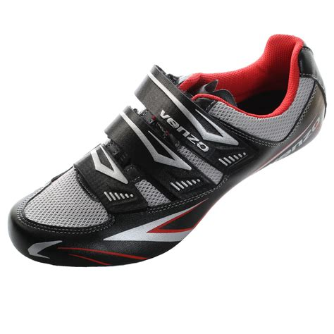 biking shoes for venzo road bike for shimano spd sl look cycling bicycle