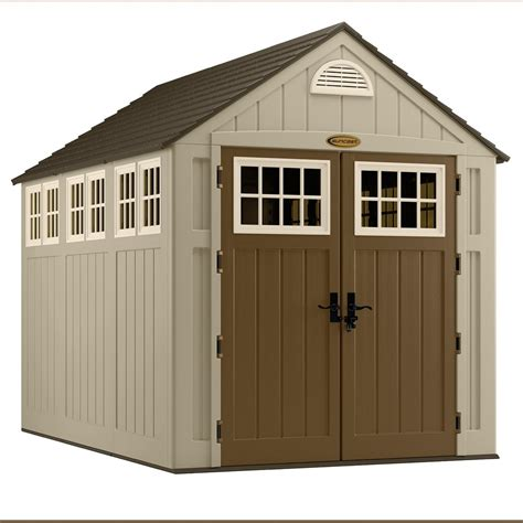 suncast alpine  ft   ft resin storage shed lowes