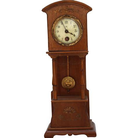 nouveau dollhouse nouveau dollhouse grandfather clock early 20th