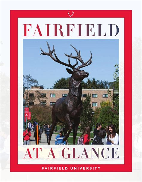 Fairfield U Mba Program by Fairfield At A Glance By Fairfield Issuu