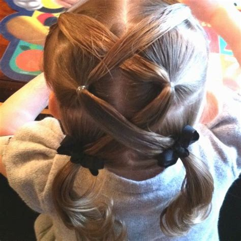easy girls hairdo little girl hairstyles easy hairstyles ideas