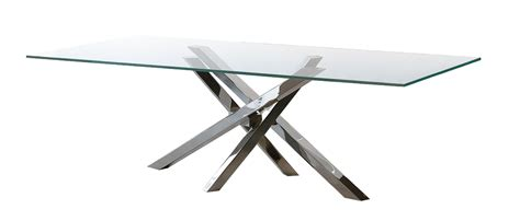 tavolo shangai shangai glass dining table riflessi eu