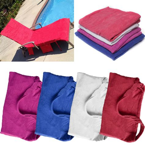 towels with pocket for lounge chair microfiber lounge chair towel with pockets holidays