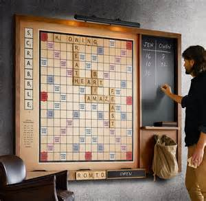 Home Hardware Room Design Gigantic Wall Scrabble Game The Green Head