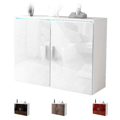 kommode weis sideboard cabinet dresser buffet faro v3 white high