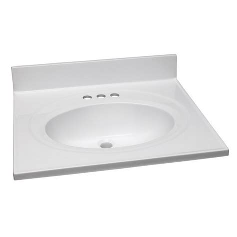 design house vanity top design house 551366 single bowl marble vanity top 25 inch
