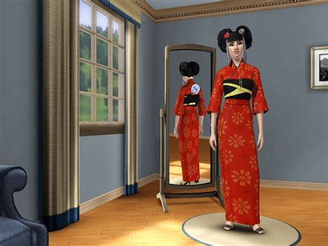 japanese dressing room traditional japanese kimono sims 3 store dressing room