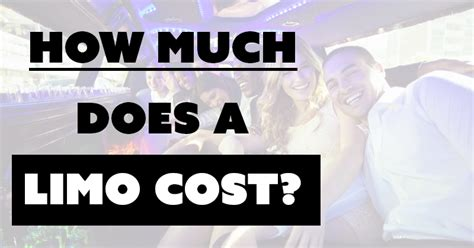 Limo Service Cost by How Much Does A Limo Cost 2018 Limo Rental Prices