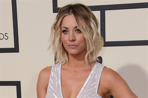 does penny like her short hair cut kaley cuoco has long hair again says goodbye to her lob