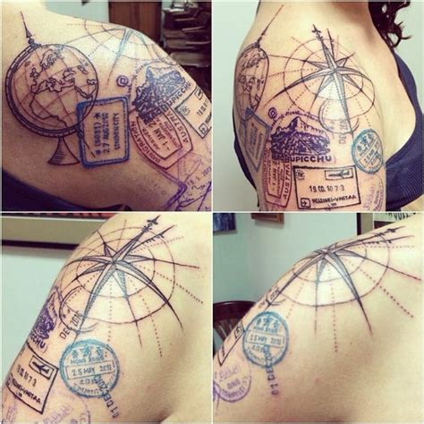 travel tattoo ideas 17 travel designs pretty designs